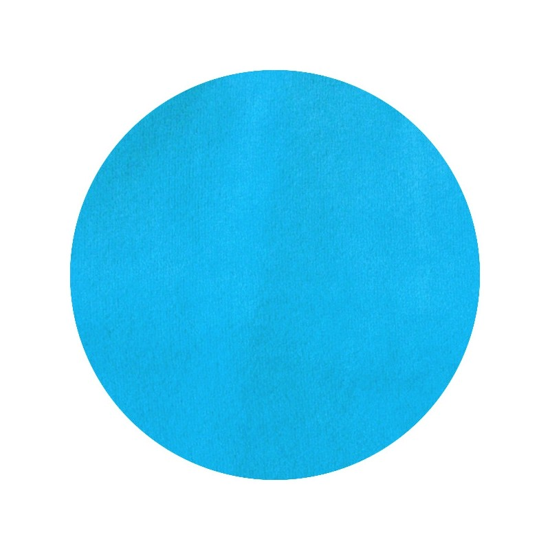 Velours de coton turquoise