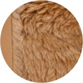 Mohair 7 cm - Chatain doré
