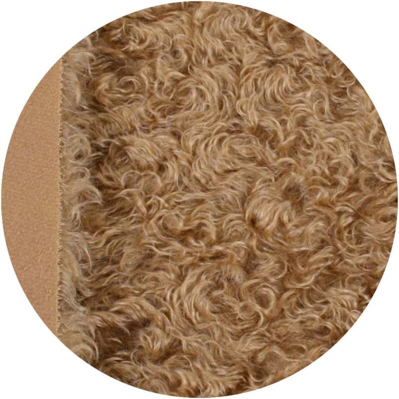 Mohair 4 cm - blond cendré