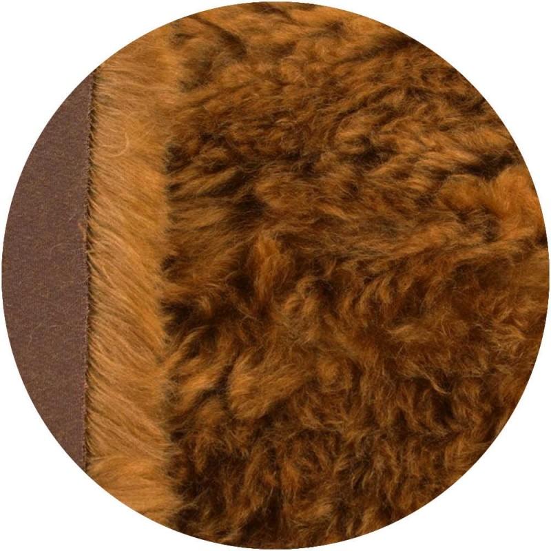 fourrure Mohair 7 cm - Cuivré