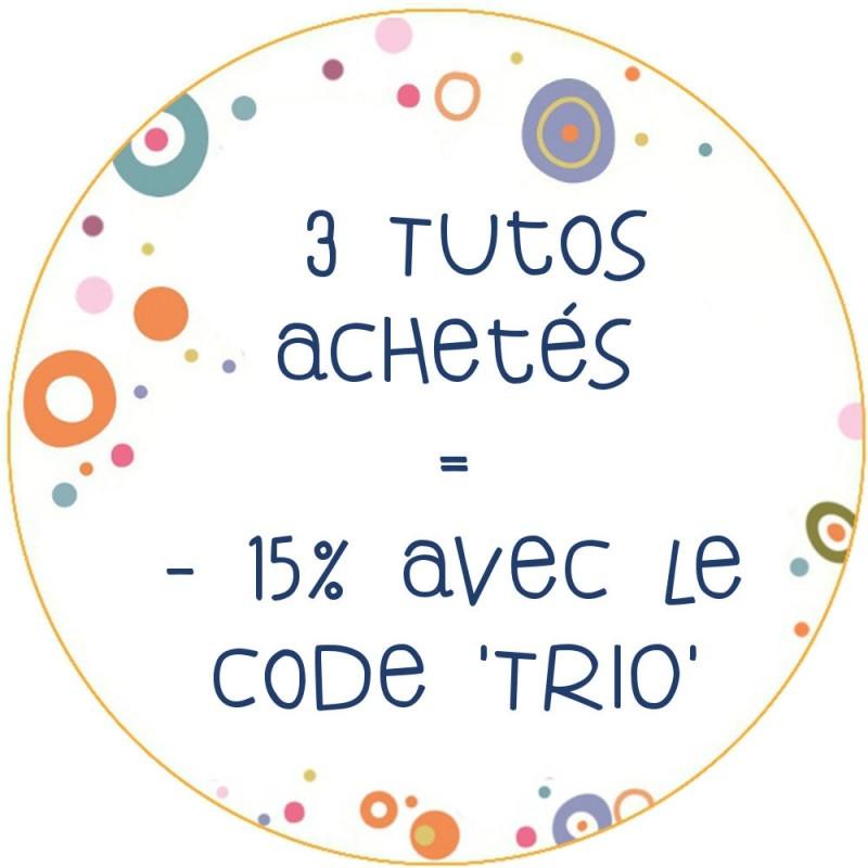 PROMOTION 3 TUTOS ACHETÉS