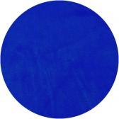 Velours de coton oeko tex bleu roi