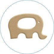 Anneau de dentition en bois 'Elephant'