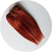 cheveux poupée auburn