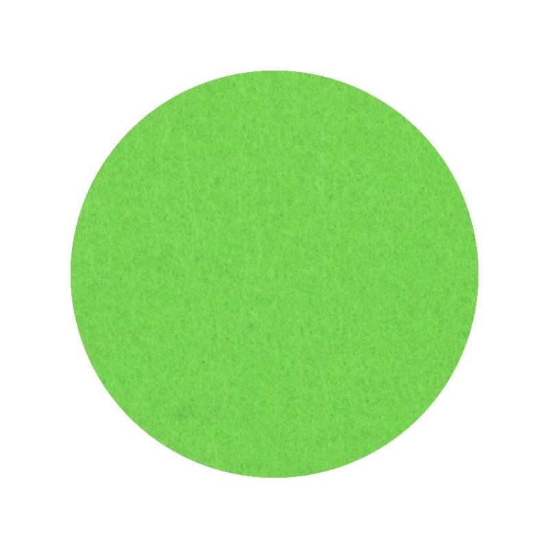 Feutrine lavable recyclée vert pomme