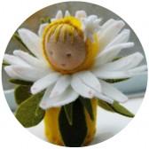 Mini poupée 'Paquerette'
