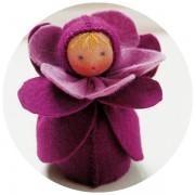 Mini poupée 'Violette'