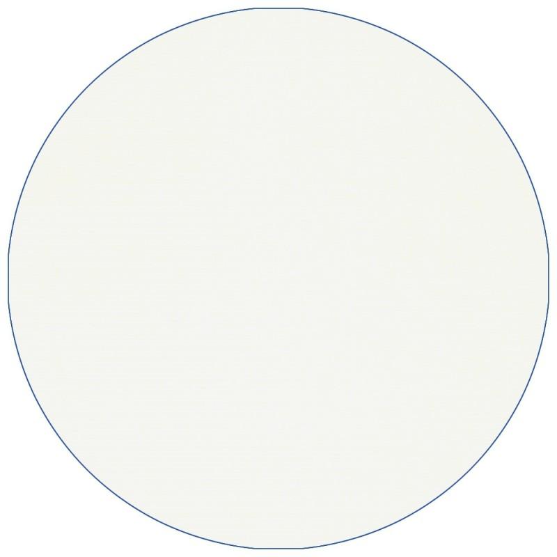 Velours de coton, jersey de velours blanc