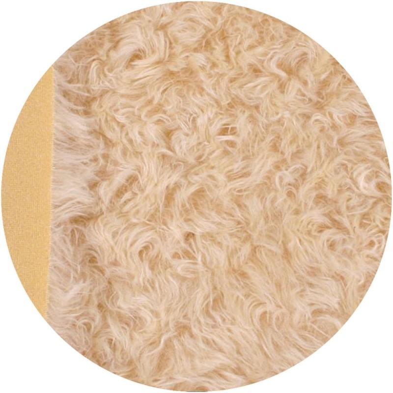 Mohair à coudre 40 mm - Blond très clair