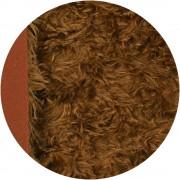 Mohair 4 cm - Cuivré