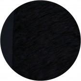 Mohair long à coudre 70 mm - Noir
