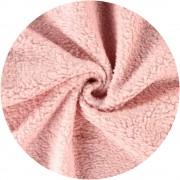 Peluche coton - Rose pâle