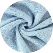 Peluche coton - Bleu ciel