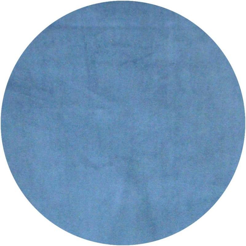 Velours de coton bleu 'Denim'