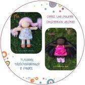 Tutoriel PDF - Créez une poupée d'inspiration Waldorf
