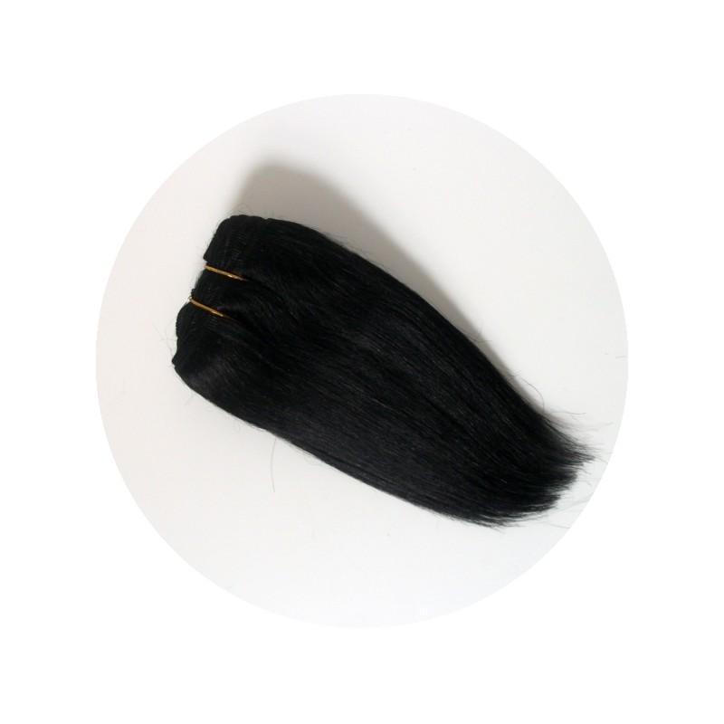 cheveux en bande pour poupée waldorf