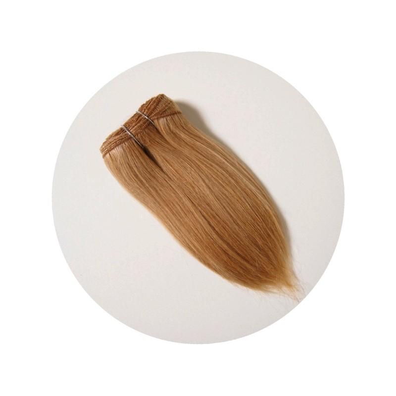 cheveux en bande pour poupée blonds