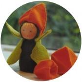 Kit mini poupée feutrine 'Lanterne'