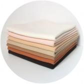 Tissu peau poupée waldorf jersey coton