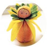 Kit mini poupée feutrine 'Narcisse'