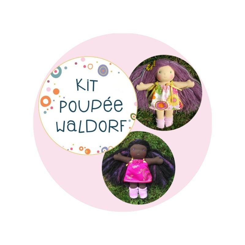 Kit poupée waldorf - fabrique-moi une poupée !
