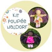 Kit pour fabrique une poupée waldorf